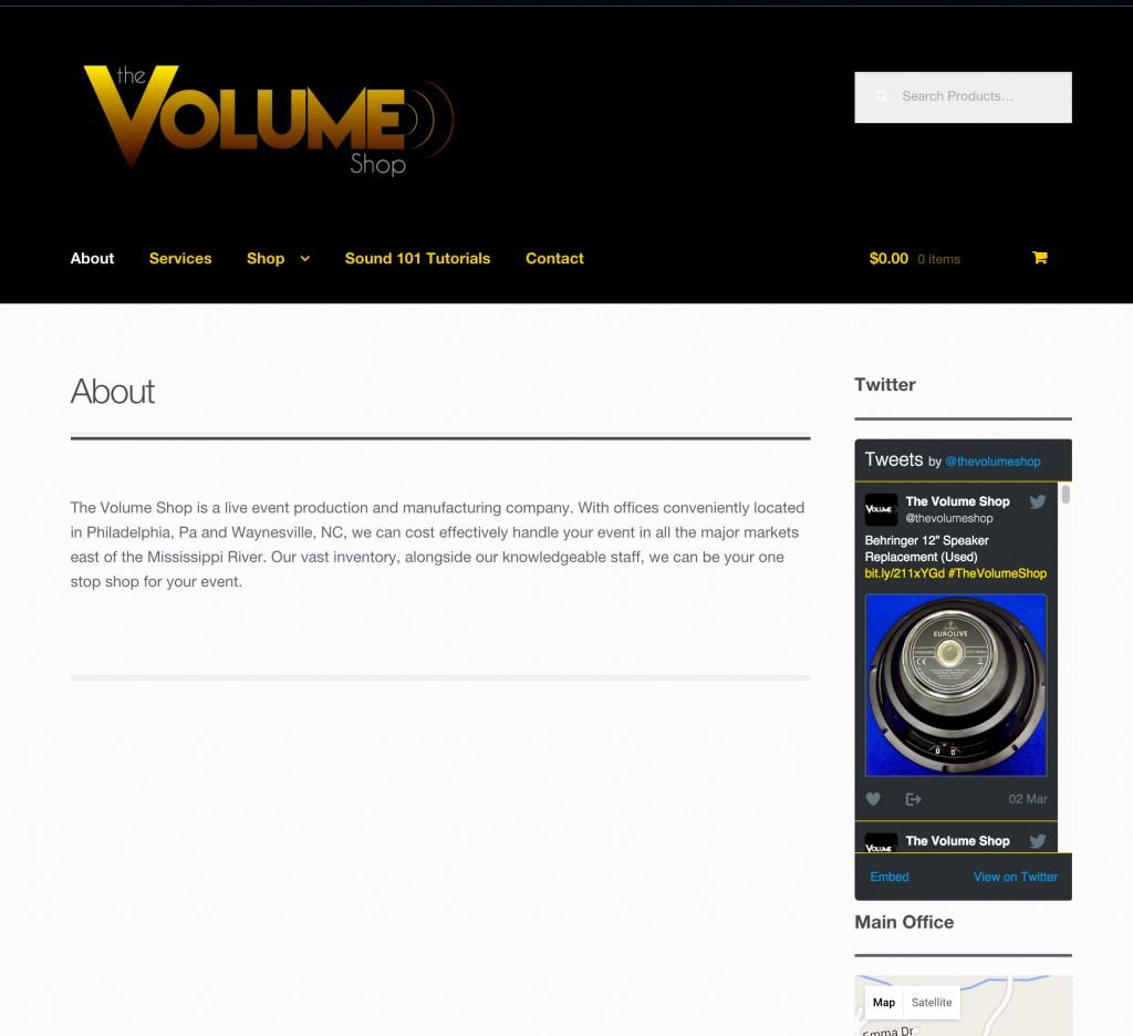 thevolumeshop_website